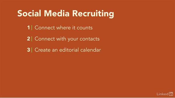 Recruiting methods: Recruiting Fundamentals