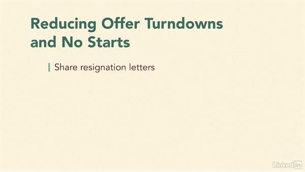 Reduce problem areas: Recruiting Fundamentals