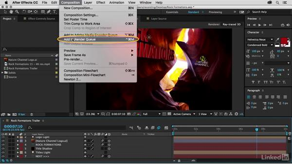 Render settings, quality, and motion blur: Premiere Pro Guru: 3D Titling for Video Editors