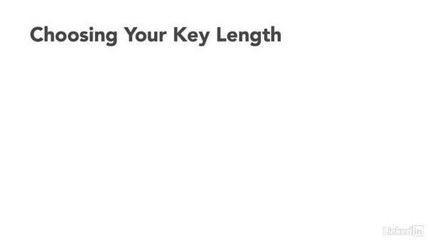 Choosing encryption algorithms: CompTIA Security+ Exam Prep (SY0-401): Cryptography