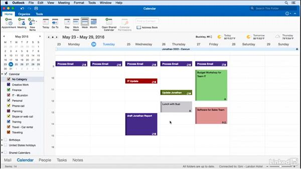 Use Outlook as your time management system: Time Management with Outlook for Mac 2016 Calendar and Tasks