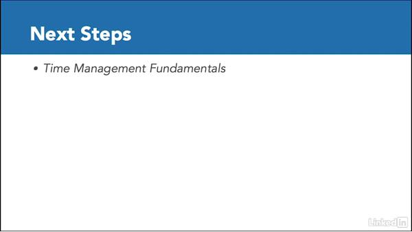 Next steps: Time Management with Outlook for Mac 2016 Calendar and Tasks