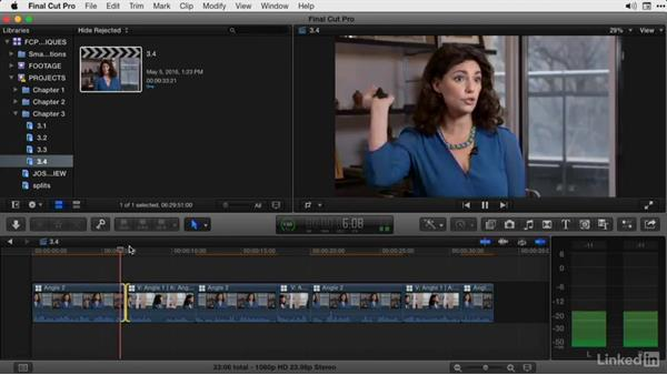Cutting documentary footage in the timeline: Part 2: Final Cut Pro X Guru: Advanced Trimming