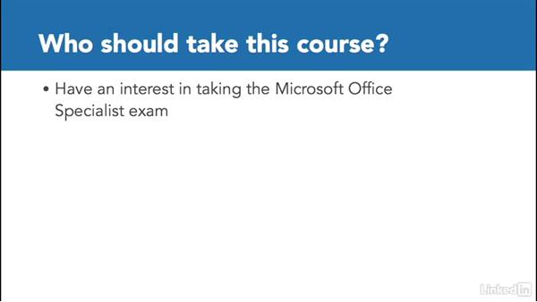 Who should take this course: SharePoint 2013: Prepare for the Microsoft Office Specialist Certification Exam (77-419)