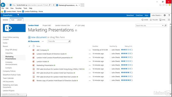 View site analytics and reports: SharePoint 2013: Prepare for the Microsoft Office Specialist Certification Exam (77-419)
