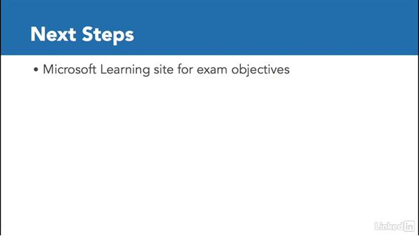 Next steps: SharePoint 2013: Prepare for the Microsoft Office Specialist Certification Exam (77-419)