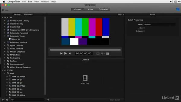 What you should know before watching this course: Final Cut Pro X Guru: Compressor Exporting