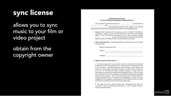 Using preexisting music (nonlibrary option): Introduction to Music in Film and Video