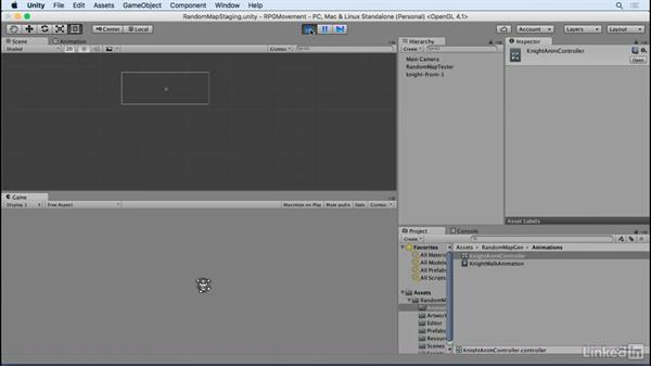 Import artwork and animations: Unity 5 2D: Movement in an RPG Game