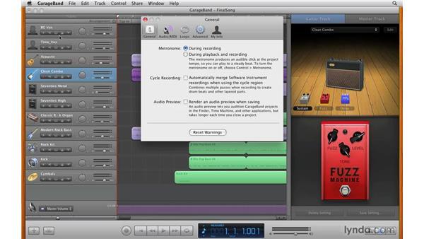 Installing and configuring hardware: GarageBand '09 Essential Training
