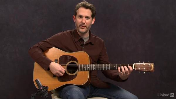 Hammer and Pull (Key of D) - Exercise 1: Acoustic Guitar Lessons with Bryan Sutton: 3 Rhythm and Voicings