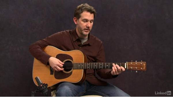 Playing Alternate Downbeat Notes: Acoustic Guitar Lessons with Bryan Sutton: 3 Rhythm and Voicings