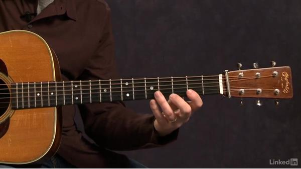 Major Scales: 2nd Position Closed - Key of C: Acoustic Guitar Lessons with Bryan Sutton: 3 Rhythm and Voicings