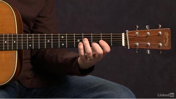 Pentatonic Scales: Closed Position - Key of D: Acoustic Guitar Lessons with Bryan Sutton: 3 Rhythm and Voicings