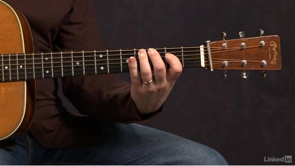 Pentatonic Scales: Closed Position - Key of A: Acoustic Guitar Lessons with Bryan Sutton: 3 Rhythm and Voicings