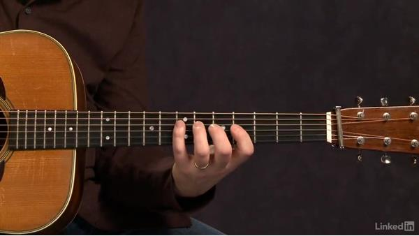 Fretboard - Exercise 1: Acoustic Guitar Lessons with Bryan Sutton: 3 Rhythm and Voicings