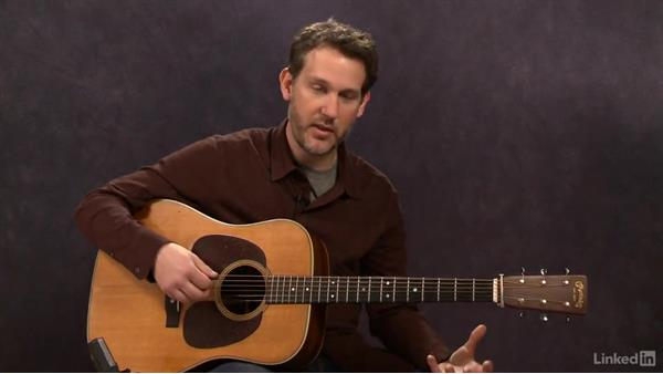 Major Scales: Up the Neck - Key of D: Acoustic Guitar Lessons with Bryan Sutton: 3 Rhythm and Voicings