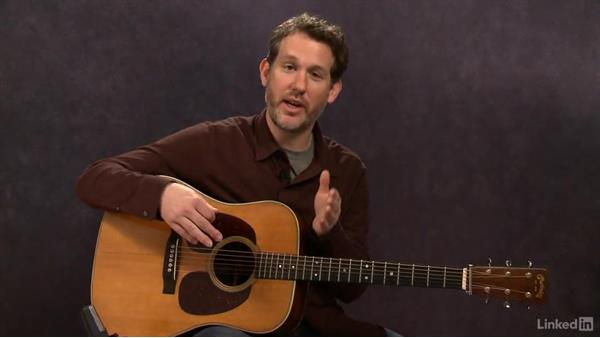 Developing groove and pocket: Part 2: Acoustic Guitar Lessons with Bryan Sutton: 4 Feel and Crosspicking
