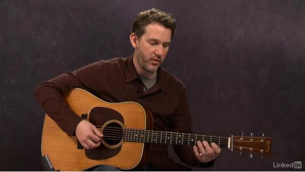 Feel: Exercise 2: Acoustic Guitar Lessons with Bryan Sutton: 4 Feel and Crosspicking