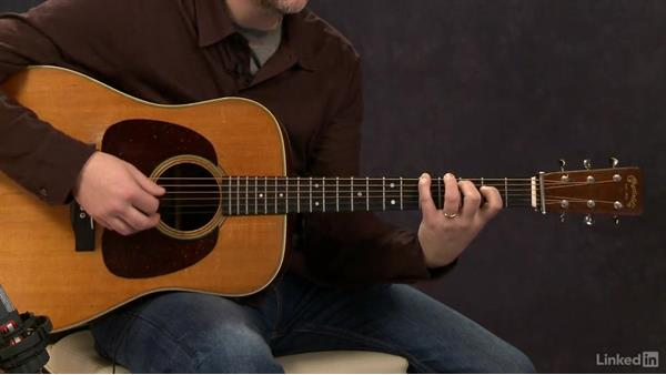 Crosspicking (key of G): Exercise 1: Acoustic Guitar Lessons with Bryan Sutton: 4 Feel and Crosspicking