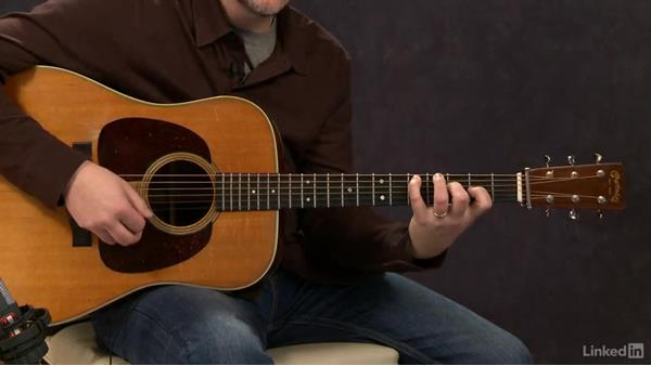 Crosspicking (key of C): Exercise 1: Acoustic Guitar Lessons with Bryan Sutton: 4 Feel and Crosspicking
