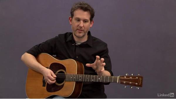 Crosspicking: Etude 1: Acoustic Guitar Lessons with Bryan Sutton: 4 Feel and Crosspicking