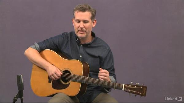 """Whiskey Before Breakfast"" (intermediate): Analysis, part 2: Acoustic Guitar Lessons with Bryan Sutton: 4 Feel and Crosspicking"