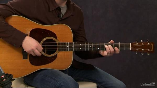 """Red Haired Boy"" (intermediate): Part 1: Acoustic Guitar Lessons with Bryan Sutton: 4 Feel and Crosspicking"