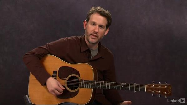 """Red Haired Boy"" (intermediate): Part 2: Acoustic Guitar Lessons with Bryan Sutton: 4 Feel and Crosspicking"