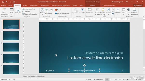 Cómo Añadir Encabezado Y Pie De Página En Powerpoint 2016