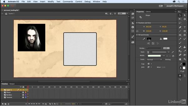 Working with strokes and fills: Learn Adobe Animate CC: The Basics