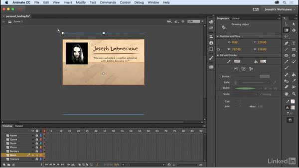 The Gradient Transform tool: Learn Adobe Animate CC: The Basics