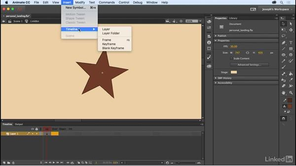 Button symbols: Learn Adobe Animate CC: The Basics