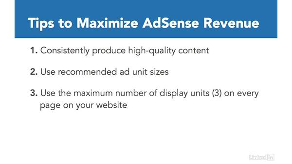 Maximizing AdSense revenue: Learn Google AdSense: The Basics