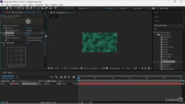 Using After Effects to generate an animated background: Premiere Pro Guru: Optimizing Titles