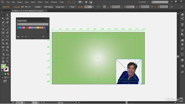 Using Illustrator to generate a background: Premiere Pro Guru: Optimizing Titles