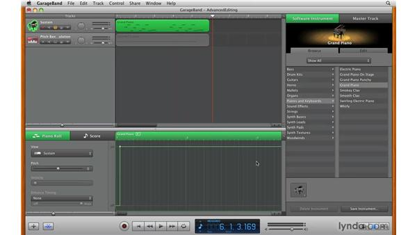 Advanced editing: GarageBand '09 Essential Training