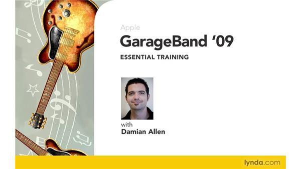 Goodbye: GarageBand '09 Essential Training