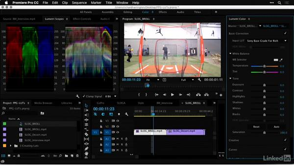 Working with a colorist: Premiere Pro Guru: LUTs and Look Files