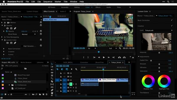 Building a LUT in Photoshop: Premiere Pro Guru: LUTs and Look Files
