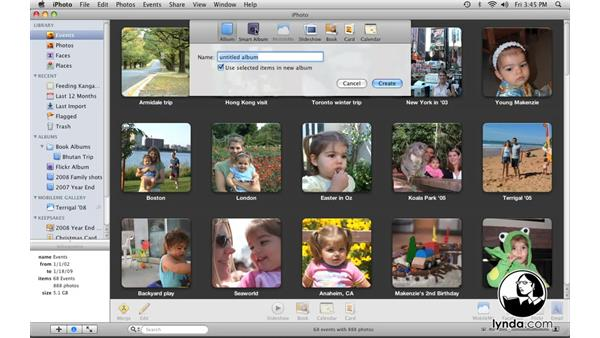 Welcome: iPhoto '09 Essential Training