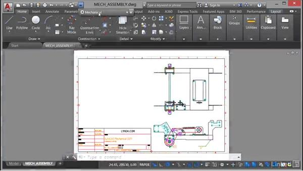 Welcome: AutoCAD Mechanical Essential Training
