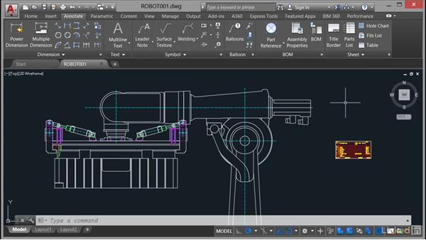 Using the exercise files: AutoCAD Mechanical Essential Training
