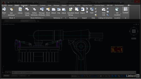Exploring the user interface: AutoCAD Mechanical Essential Training