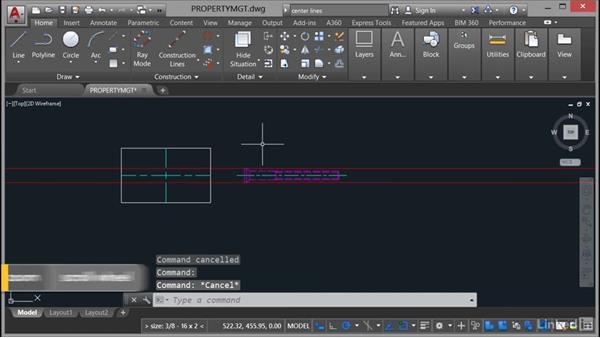 Using geometry on layers: AutoCAD Mechanical Essential Training