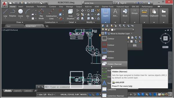 Drawing creation workflows: AutoCAD Mechanical Essential Training