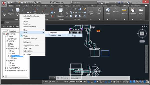 Reusing structured data: AutoCAD Mechanical Essential Training
