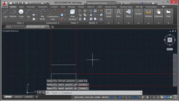 Drawing with different line tools: AutoCAD Mechanical Essential Training