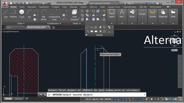 Working with basic editing tools: AutoCAD Mechanical Essential Training