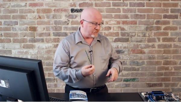 Installing RAM: CompTIA A+ Exam Prep (220-901) Part 1: Core Processing